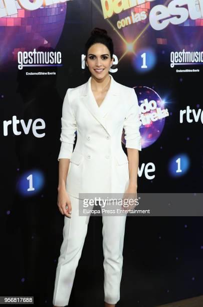 Rocio Munoz attends 'Bailando Con Las Estrellas' TVE photocall on May 9 2018 in Madrid Spain