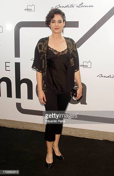 Rocio Munoz attends 'Bendita locura' new collection party photocall at Villamagna hotel on June 11 2013 in Madrid Spain