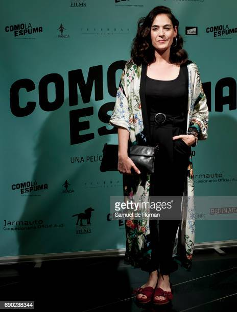 Rocio Munoz attends 'Como La Espuma' Madrid Photocall on May 30 2017 in Madrid Spain