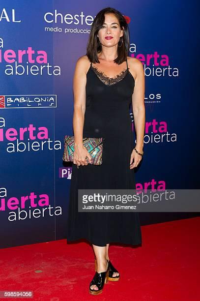 Rocio Munoz attends 'La Puerta Abierta' premiere at Palacio de la Prensa Cinema on September 1 2016 in Madrid Spain