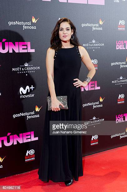 Rocio Munoz attends 'Los Del Tunel' premiere during the Madrid Premiere Week at Callao Cinema on November 21 2016 in Madrid Spain