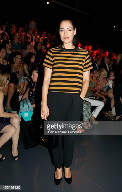Rocio Munoz attends Mercedes Benz Fashion Week Madrid at Ifema on September 15 2014 in Madrid Spain