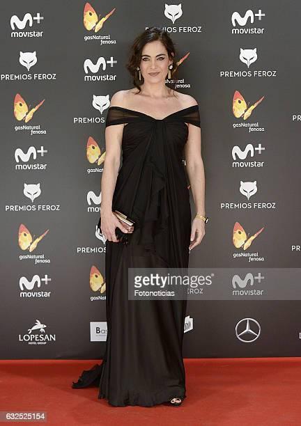 Rocio Munoz attends the 2016 Feroz Awards ceremony at the Palacete de los Duques de Pastrana on January 23 2017 in Madrid Spain
