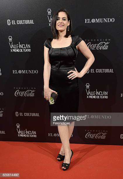 Rocio Munoz attends the ValleInclan Theatre Awards at the Teatro Real on April 11 2016 in Madrid Spain
