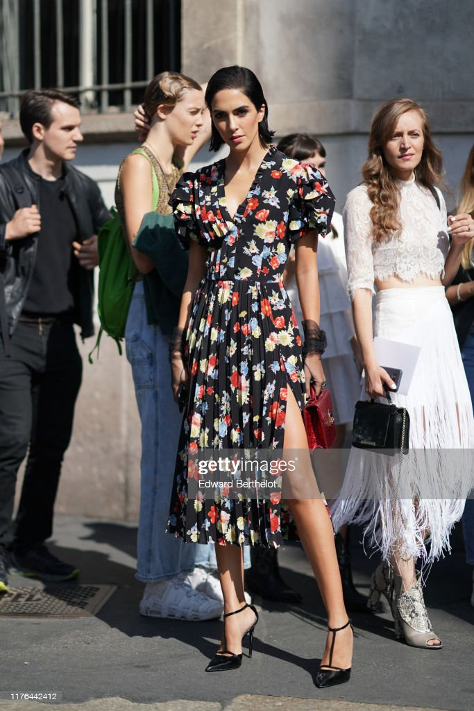 Ermanno Scervino – Street Style - Milan Fashion Week Spring Summer 2020 : News Photo