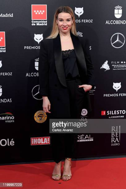 Rocio Pastor attends Feroz awards 2020 red carpet at Teatro Auditorio Ciudad de Alcobendas on January 16 2020 in Madrid Spain