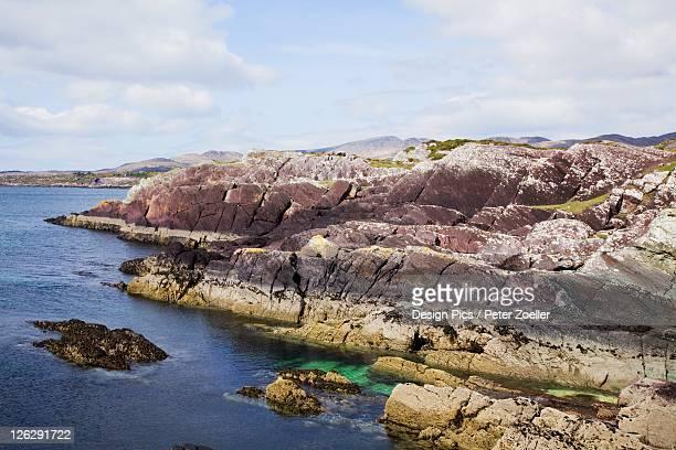 Rock Along The Coast Of Kenmare Bay Near Sneem