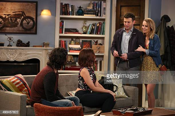 UNDATEABLE A Rock and a Hard Place Walk Into a Bar Episode 303 Pictured Chris D'Elia as Danny Angie Simms as Tammy Brent Morin as Justin Bridgit...