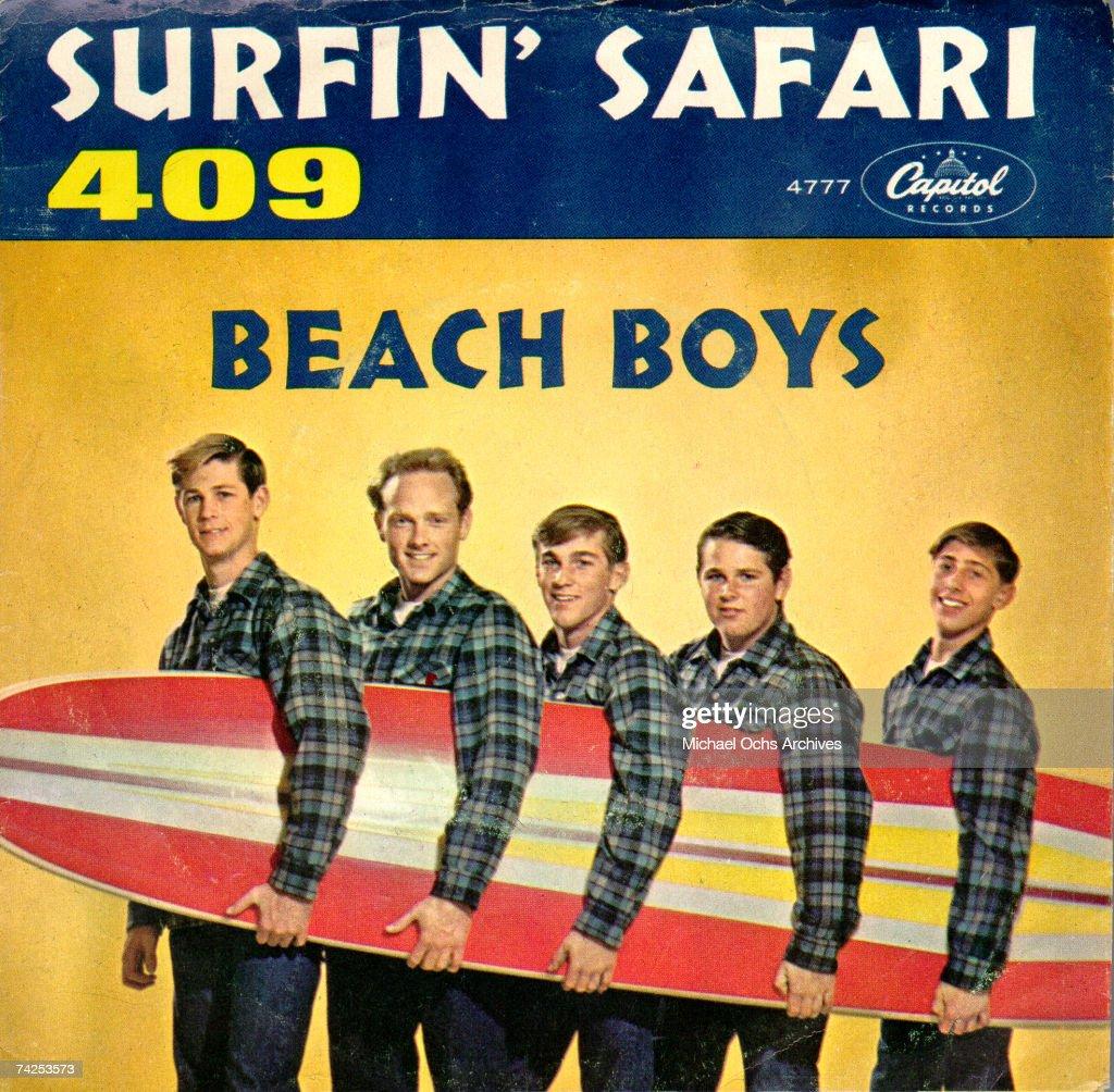 "Beach Boys ""Surfin' Safari"" Album Cover : News Photo"