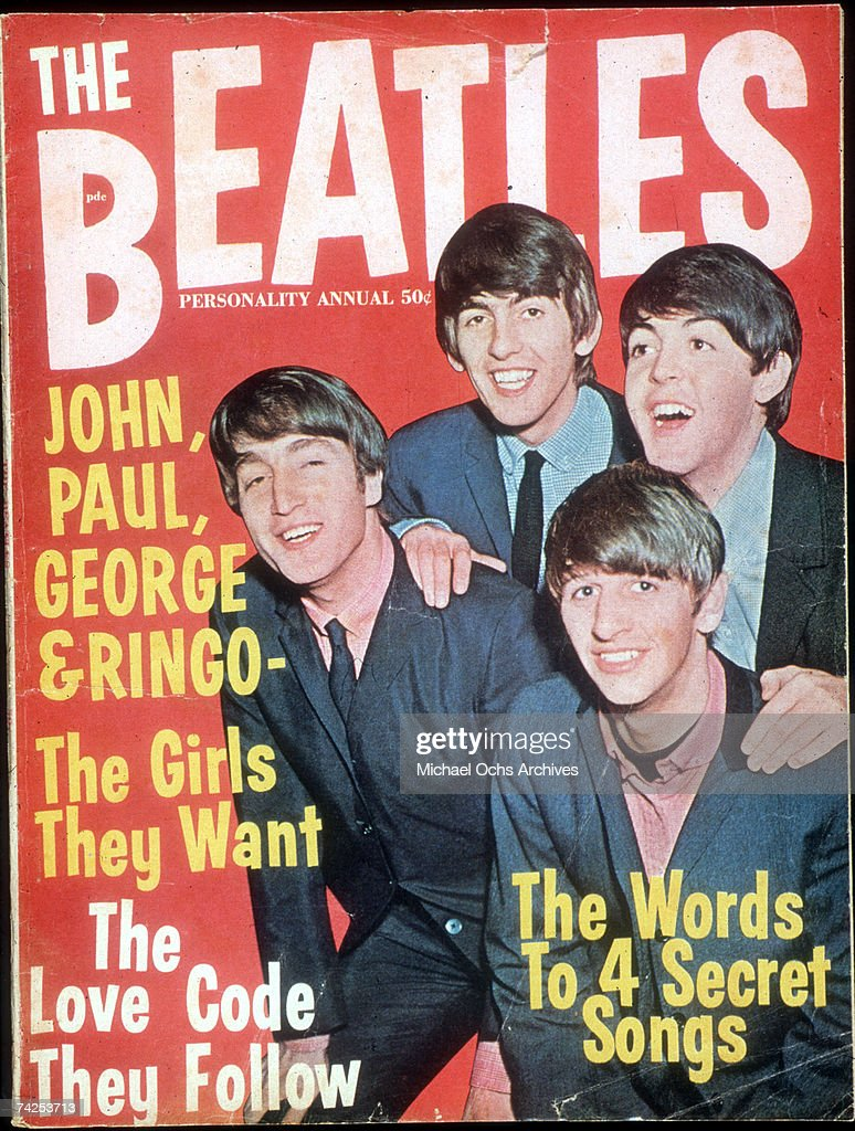 """The Beatles"" Fanzine : News Photo"
