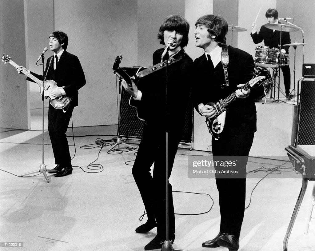 Beatles On A TV Show : News Photo