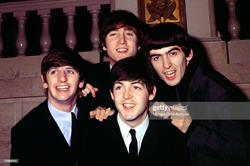 Beatles Portrait : News Photo