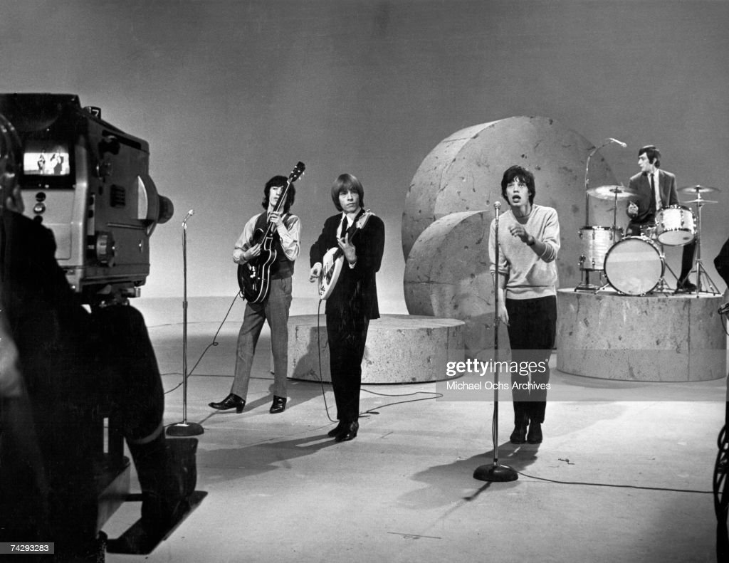 Rolling Stones On Ed Sullivan : News Photo