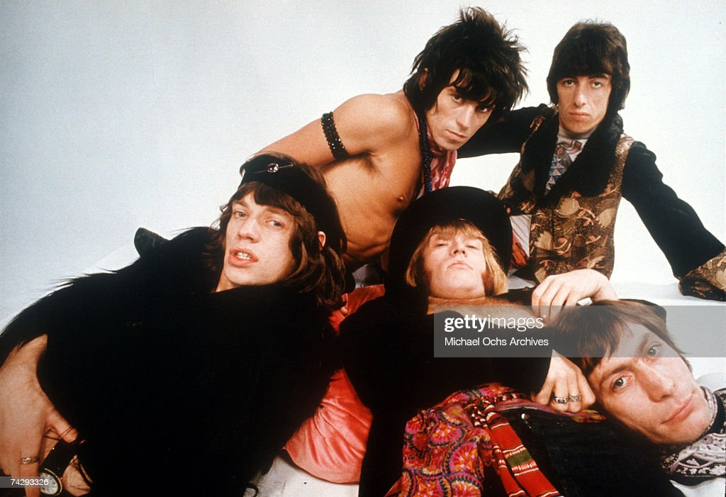 Rolling Stones Gather Moss : News Photo