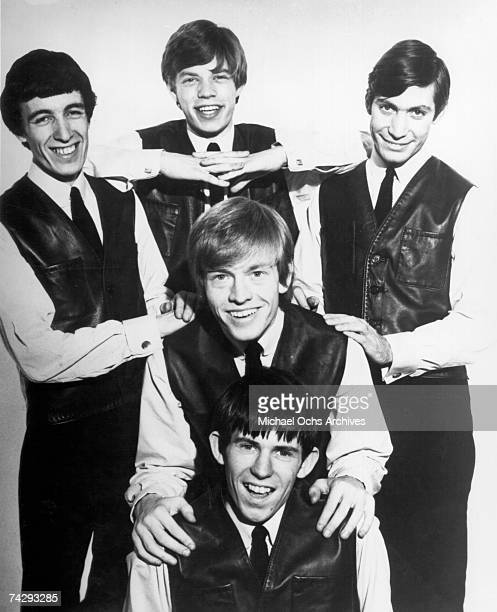 Rock and roll band 'The Rolling Stones' pose for a very early portrait circa 1962 in London England Charlie Watts Bill Wyman Mick Jagger Brian Jones...