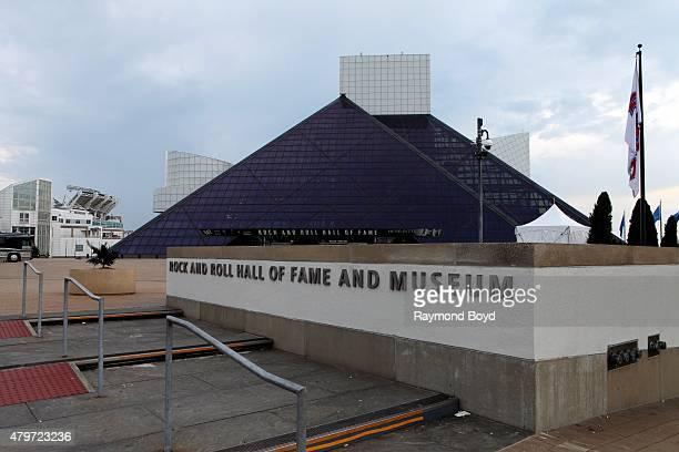 Rock and Roll Hall Of Fame and Museum on June 18, 2015 in Cleveland, Ohio.