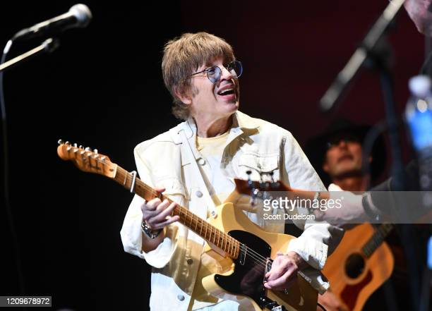 Rock and Roll Hall of Fame inductee Elliot Easton, founding member of The Cars, performs onstage during the Wild Honey Foundation's benefit for...