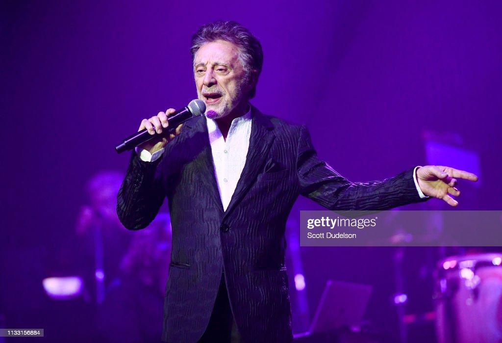 Frankie Valli In Concert - Los Angeles, CA : News Photo