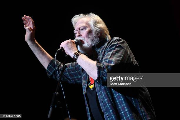 Rock and Roll Hall of Fame inductee Joe Butler founding member of The Lovin' Spoonful performs onstage during the Wild Honey Foundation's benefit for...