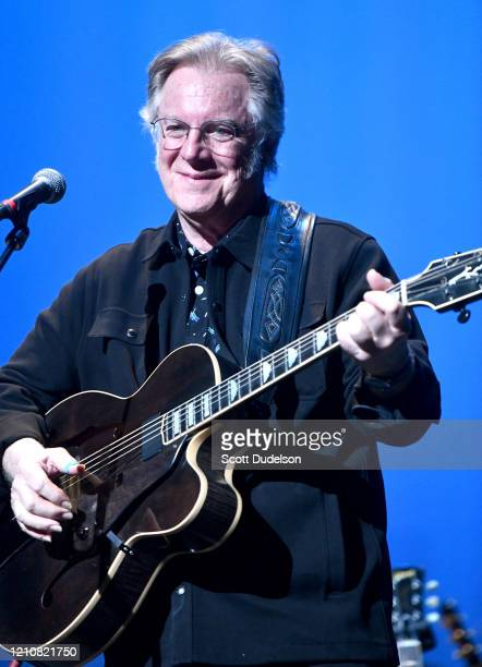 Rock and Roll Hall of Fame inductee John Sebastian, founding member of The Lovin' Spoonful, performs onstage during the Wild Honey Foundation's...