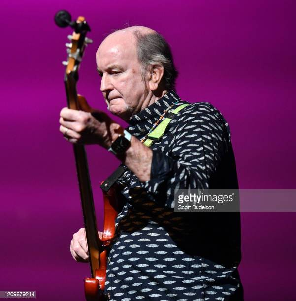 Rock and Roll Hall of Fame inductee Steve Boone, founding member of The Lovin' Spoonful, performs onstage during the Wild Honey Foundation's benefit...