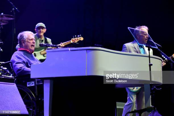 Rock and Roll Hall of Fame inductees Brian Wilson and Al Jardine founding members of The Beach Boys performs onstage during Day 2 of the BeachLife...