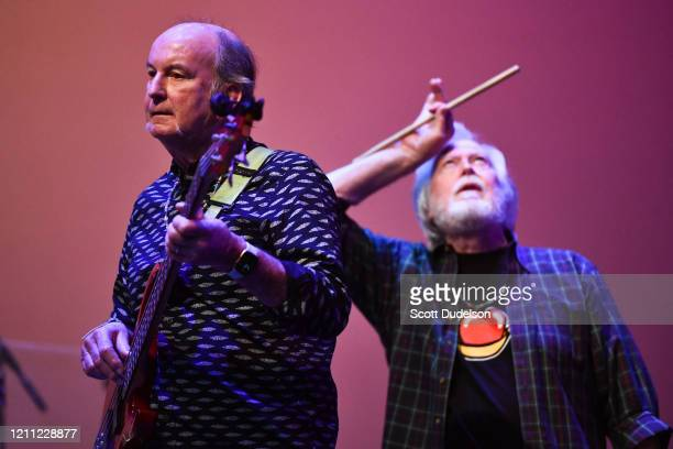 Rock and Roll Hall of Fame inductees Steve Boone and Joe Butler, founding members of The Lovin' Spoonful, performs onstage during the Wild Honey...