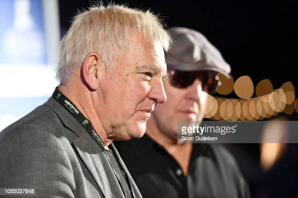 Rock and Roll Hall of Fame member Alex Lifeson founding member of the classic rock band Rush attends the Medlock Krieger All Star Concert benefiting...