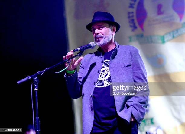 Rock and Roll Hall of Fame member Danny Seraphine founding drummer of the classic rock band Chicago performs onstage during the Medlock Krieger All...
