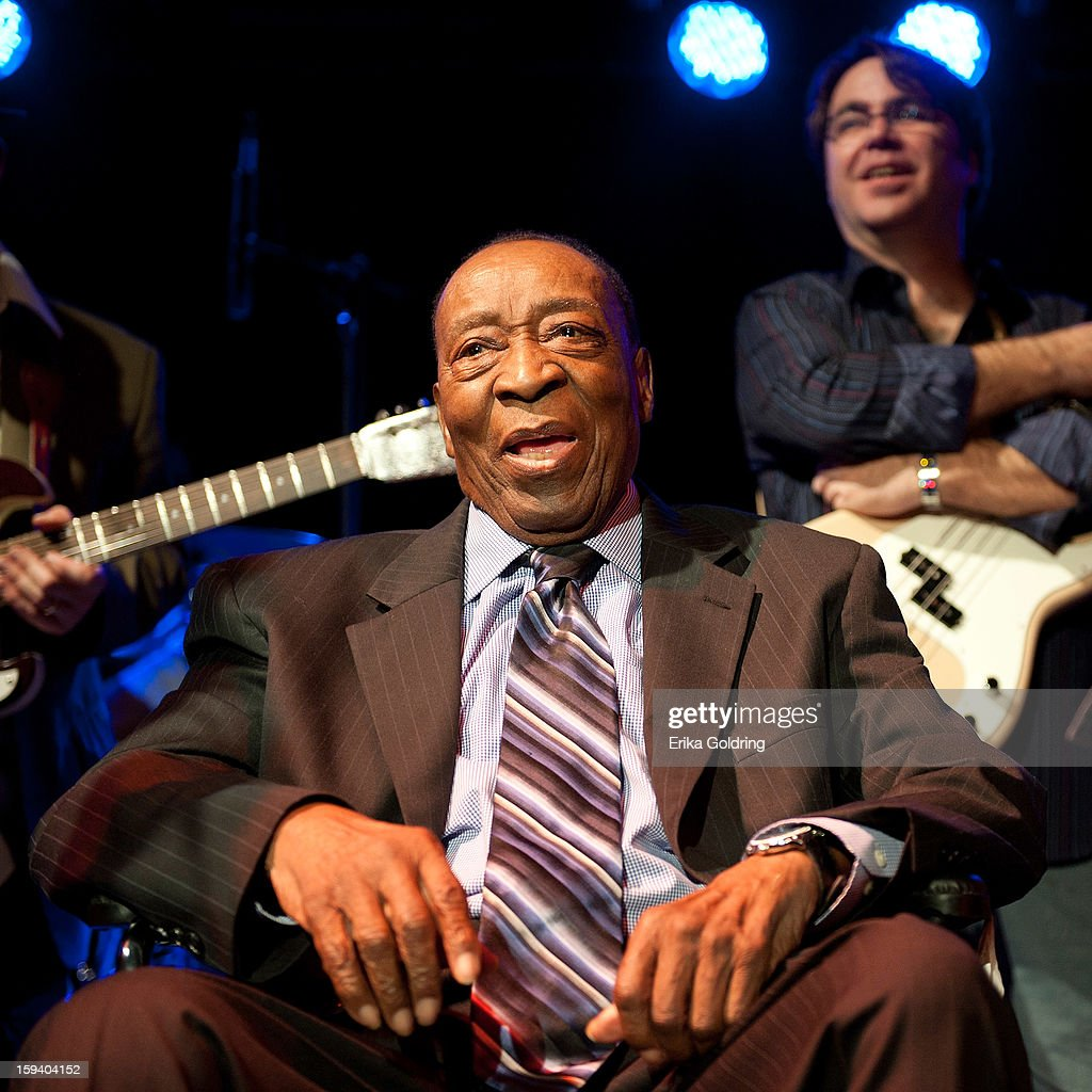 Rock and Roll Hall of Fame member Dave Bartholomew attends 'My Lil' Darlin': An HBO Treme All Star Revue' at Tipitina's on January 12, 2013 in New Orleans, Louisiana.
