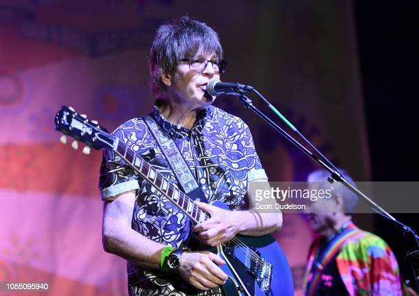 Rock and Roll Hall of Fame member Elliot Easton founding member of The Cars performs onstage during the Medlock Krieger All Star Concert benefiting...