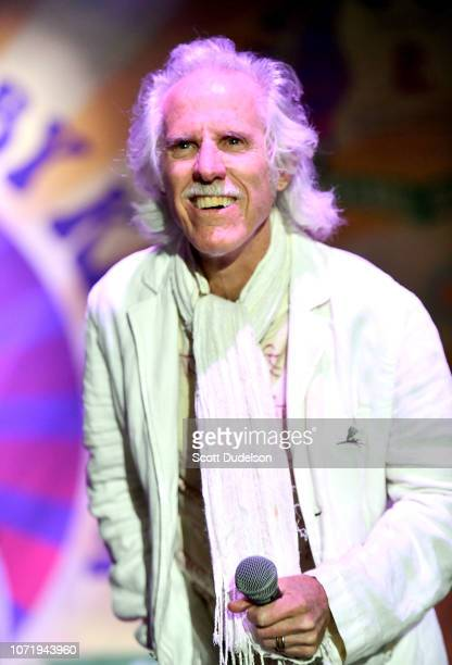 Rock and Roll Hall of Fame member John Densmore founding member of The Doors attends the Medlock Krieger All Star Concert benefiting St Jude...