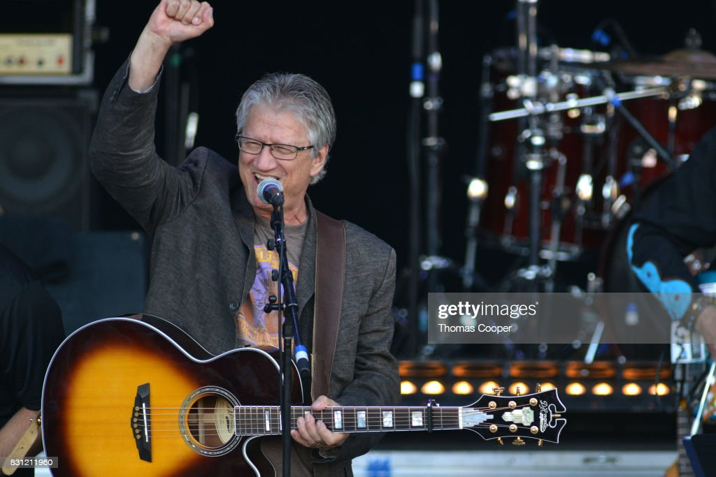 Rock and roll hall of fame member Paul Richard 'Richie' Furay performs during The Rocky Mountain Way honoring inductee's into the Colorado Music Hall of Fame event at Fiddler's Green Amphitheatre on August 13, 2017 in Englewood, Colorado.