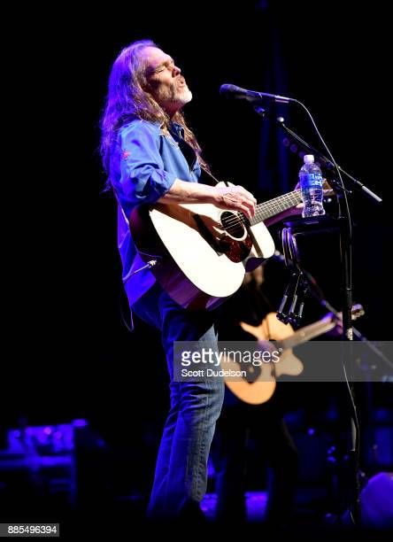 Rock and Roll Hall of Fame member Timothy B Schmit of The Eagles performs onstage in support of his solo album 'Leap of Faith' at Saban Theatre on...