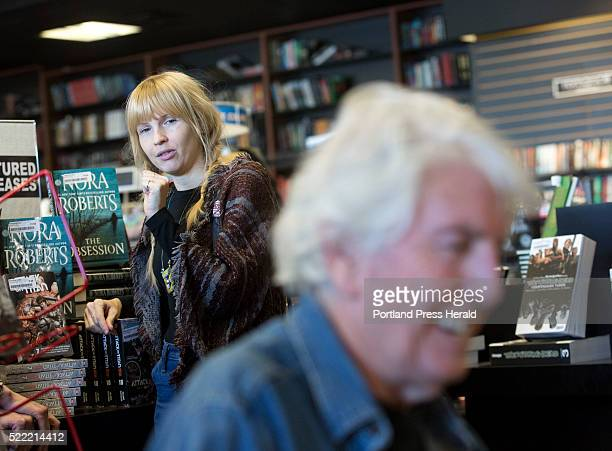 Rock and Roll Hall of Famer Graham Nash signs autographs during an appearance at Bull Moose in Scaborough for Record Store Day on Saturday Girlfriend...
