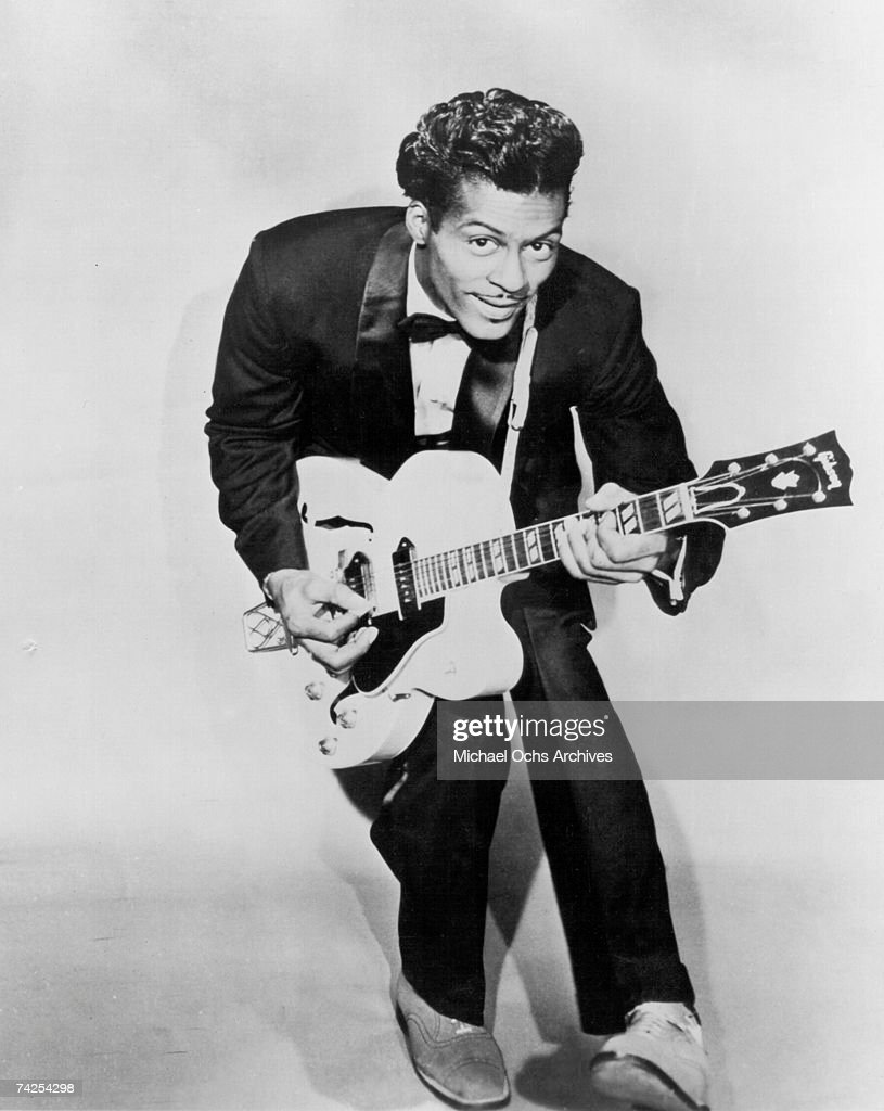 Chuck Berry Portrait : News Photo