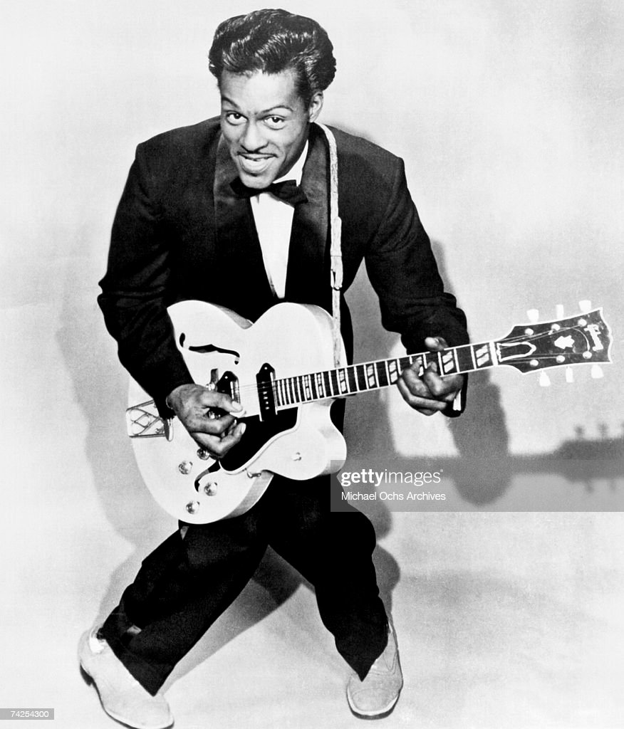 Chuck Berry Portrait : News Photo