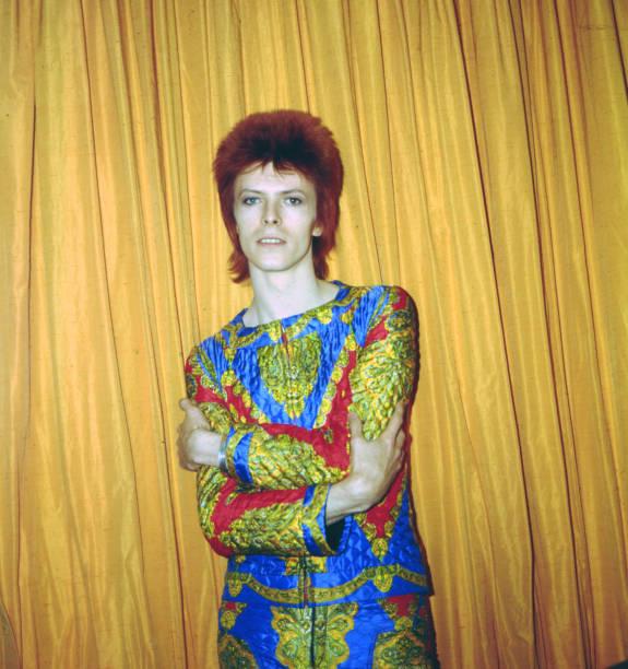"Bowie As ""Ziggy Stardust"" In NY"