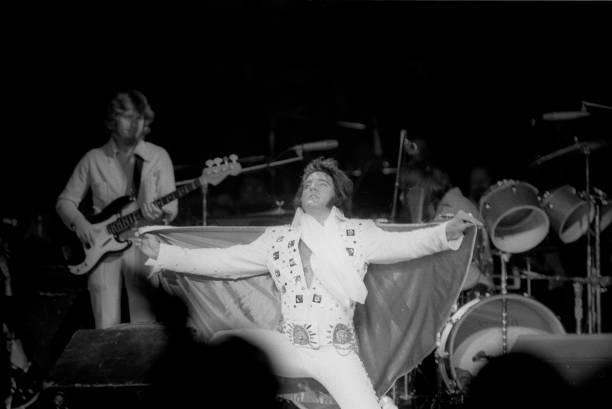 Elvis in 1972