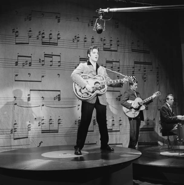 Elvis Presley On Ed Sullivan