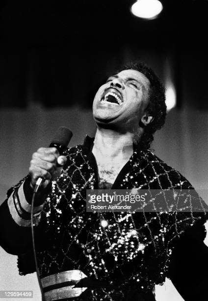 Rock and roll pioneer Little Richard preaches to a small group in a church in Brunswick Georgia in 1985 In the early 1980's the legendary singer...