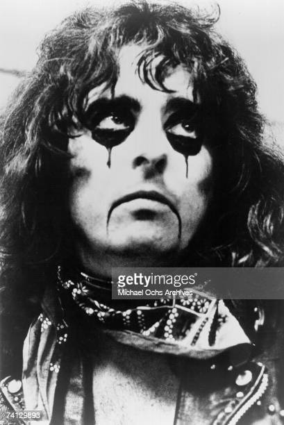 Rock and Roll Singer Alice Cooper poses for publicity photo circa 1970