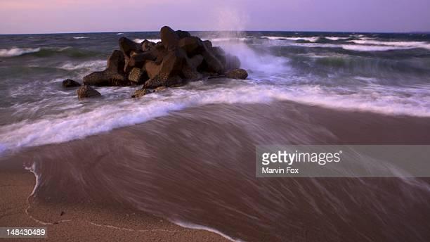 Rock Armor on Kaike Beach