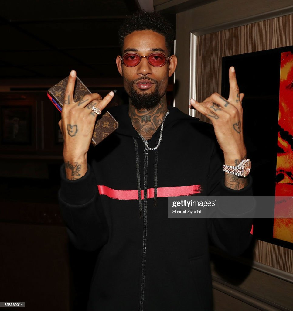 Rock attends Belly Album Listening Session at 40 / 40 Club on October 5, 2017 in New York City.