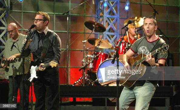 Rock Band Barenaked Ladies Performs On The Tonight Show -1724