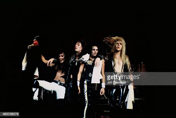 Rock band Cinderella performs at the Met Center in Bloomington Minnesota on August 27 1988