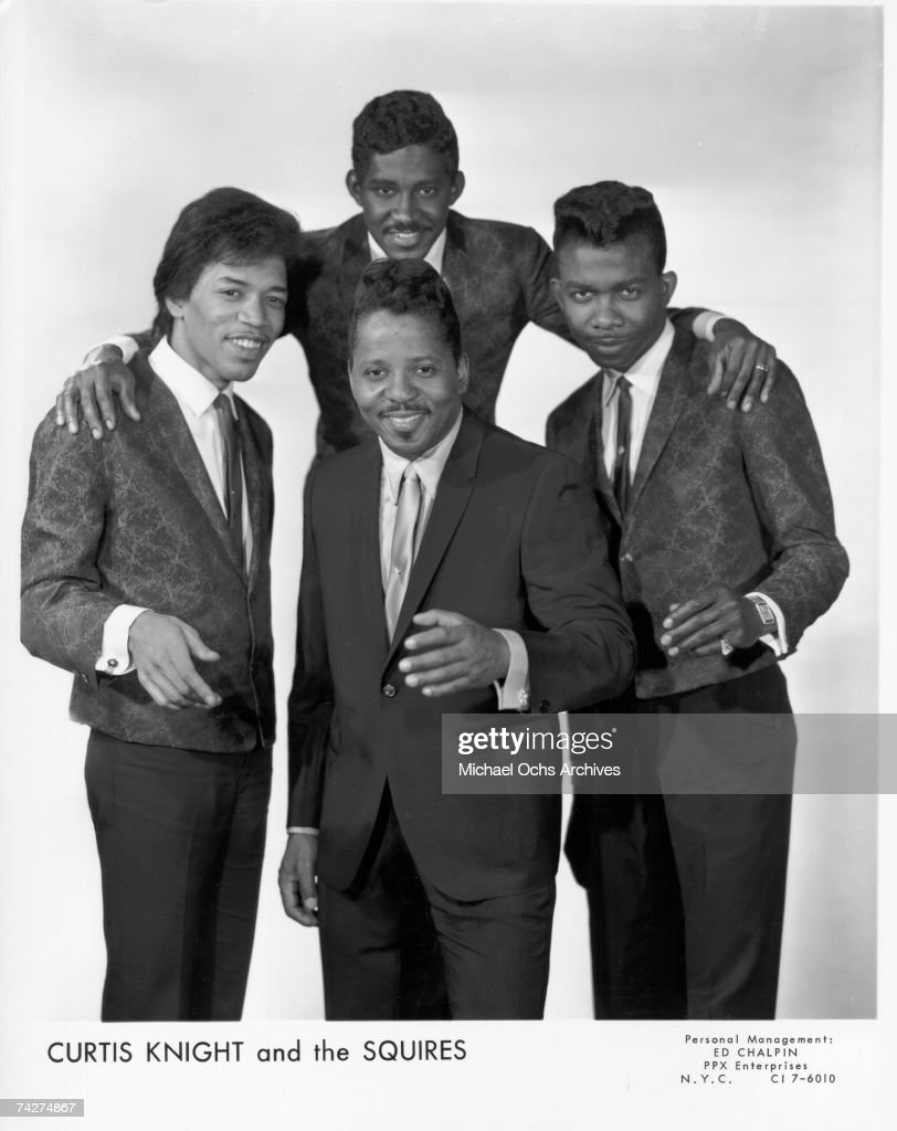 """""""Curtis Knight & The Squires"""" Featuring Jimi Hendrix : News Photo"""