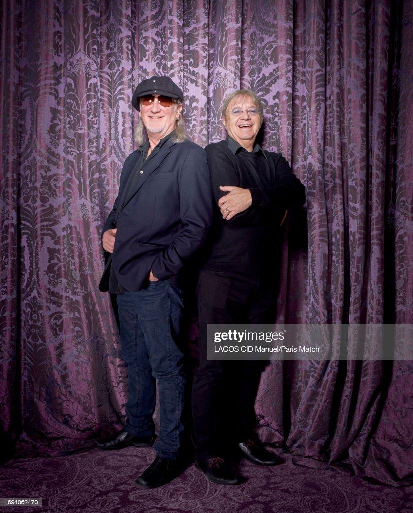 Deep Purple, Paris Match Issue 3550, June 7, 2017