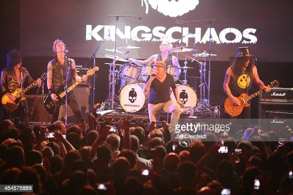 rock band kings of chaos steve stevens duff mckagan corey taylor news photo getty images. Black Bedroom Furniture Sets. Home Design Ideas