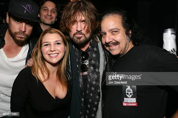 Rock band Kings of Chaos with Billy Ray Cyrus at benefit concert for Ric O'Barry's Dolphin Project at the Avalon in Hollywood California on November...